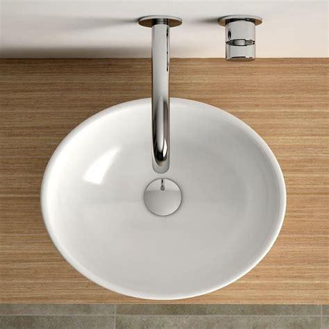 vasque 224 poser ovale 40x33 cm c 233 ramique aoki
