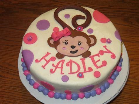 Monkey Birthday Cake Template by Monkey Birthday Cakes For Monkey Birthday