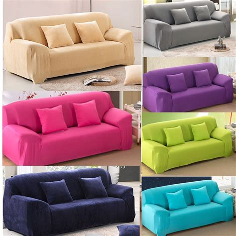 3 Loveseat Slipcover by Color Removable Elastic Sofa Slipcover Lounge