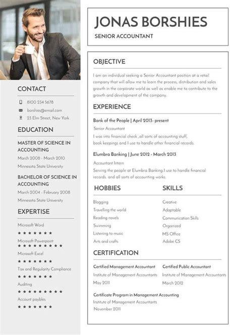 professional banking resume templates
