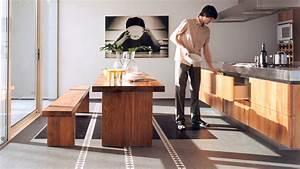 Linoleum Arbeitsplatte Küche : bodenbel ge f r die k che ~ Sanjose-hotels-ca.com Haus und Dekorationen