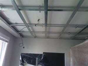Obklad stropu sadrokartonom