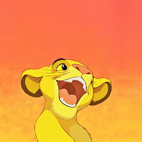 Disney Wallpaper Apple by Freeios7 Disney Simba Lionking Smile Parallax Hd