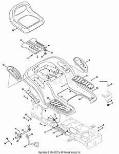 Troy Bilt 13bx60kh211 Super Bronco  2009  Parts Diagram