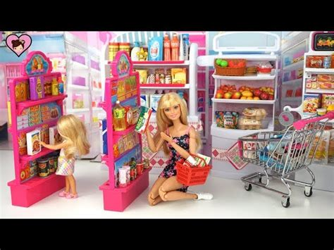 barbie doll grocery store supermarket   kitty