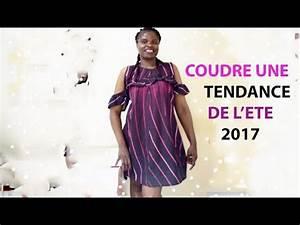 Robe Tendance Ete 2017 : diy la petite robe d 39 ete tendance couture rf mode 2017 youtube ~ Melissatoandfro.com Idées de Décoration