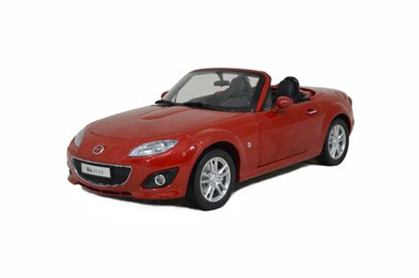 mazda car models mazda mx 5 2012 red 1 18 scale diecast model car paudi