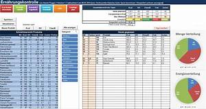 Einnahme überschuss Rechnung Excel Kostenlos : gratis excel tabelle f r ern hrungskontrolle daniel pugge ~ Themetempest.com Abrechnung