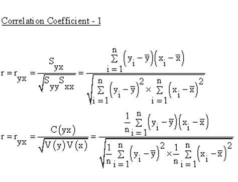 descriptive statistics simple linear regression correlation coefficient coefficient 1