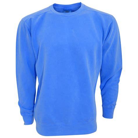 comfort colors sweatshirt comfort colors adults unisex crew neck sweatshirt ebay