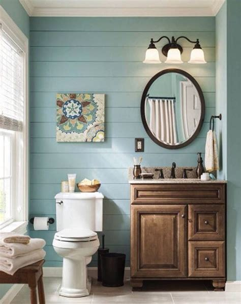 bathroom paint ideas blue bathrooms i earthtones rustic simple powder room