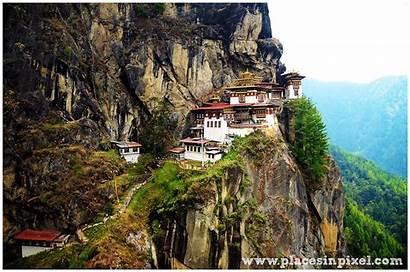 Bhutan Monastery Nest Tigers Entry Paro Citizen