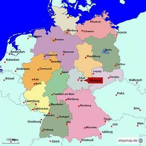 Wo Liegt Lübeck : weimar deutschland karte my blog ~ Orissabook.com Haus und Dekorationen