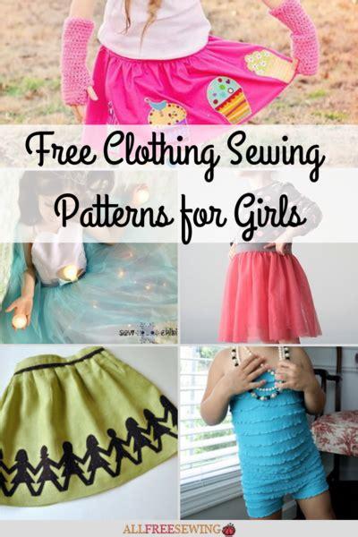 clothing patterns girls allfreesewingcom
