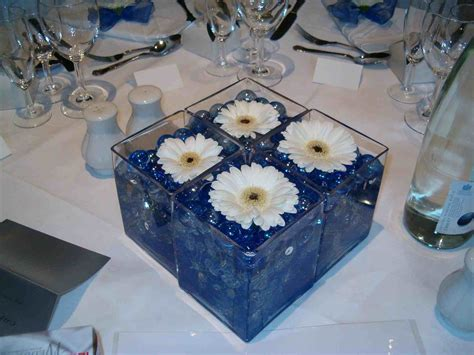 royal blue table decorations royal blue and white wedding decorations siudy net