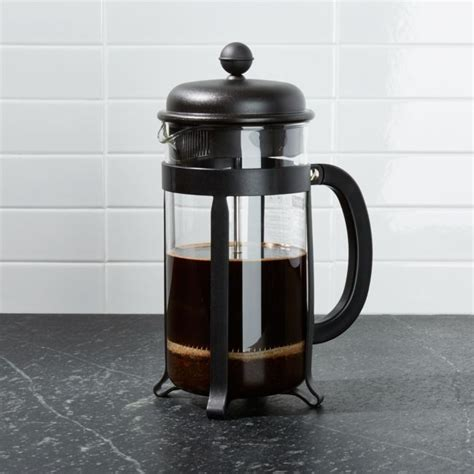 With such a wide selection of coffee makers for sale, from brands like jura, könitz, and bodum usa, inc., you're sure to find something that you'll love. Bodum 8-cup Java Black French Press Coffee Maker + Reviews | Crate and Barrel in 2020 | Camping ...