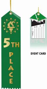 Award Ribbons | 5th Place Ribbon