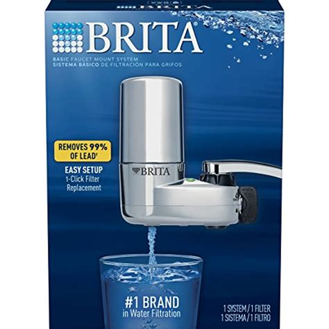 Brita Faucet Filter Light Not Working by Brita On Tap Chrome Water Faucet Filtration System Fits