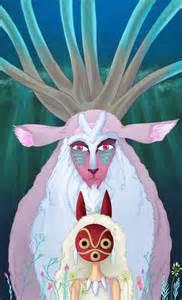 Princess Mononoke Forest Spirit