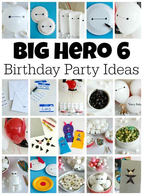 Big Hero   Ee  Birthday Ee   Party  Ee  Ideas Ee   Make And Takes