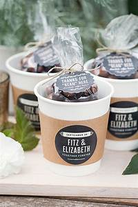 Wedding Favor Friday: Chocolate-Covered Coffee Beans