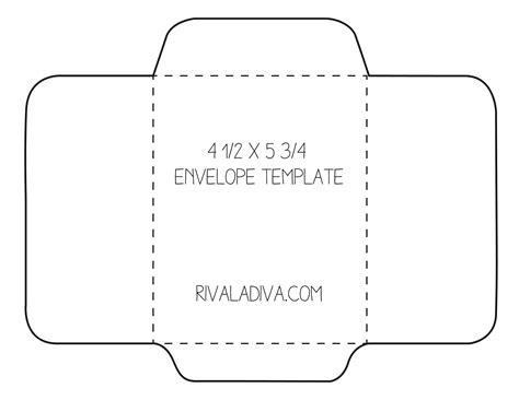 envelope template envelope template     paper
