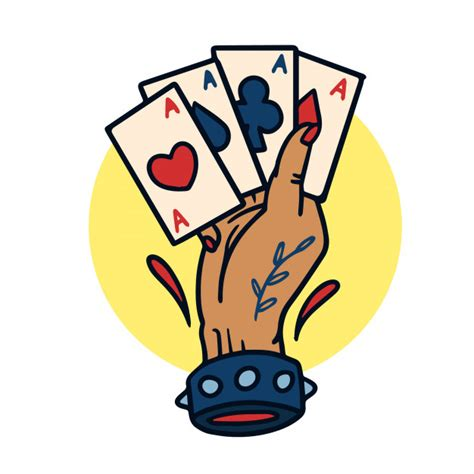 hand drawn  aces  school tattoo illustration vector