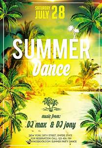 Club Flyer PSD Template - Summer Dance » NitroGFX ...