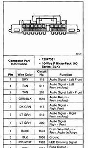 1999 S10 Tail Light Wiring Diagram
