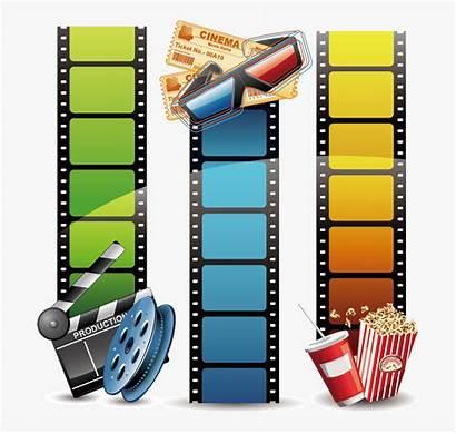 Clipart Filmstrip Film Transparent Strip Clipartkey