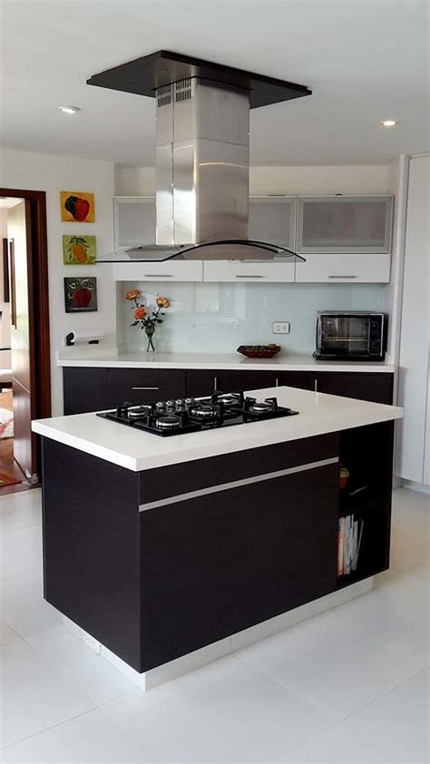 cocina integral good cocina integral cubierta marmol en