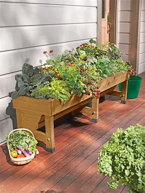 Elevated Garden by Root Cedar Raised Beds 4 Ft Cedar Raised Garden Beds
