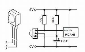 ir receiver wiring diagram 26 wiring diagram images With ir sensor diagram