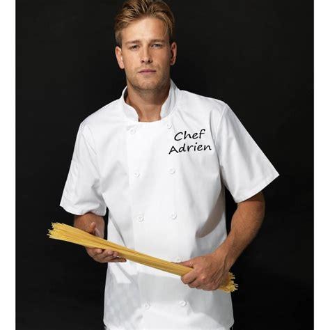 veste de cuisine veste de cuisine personnalisée homme