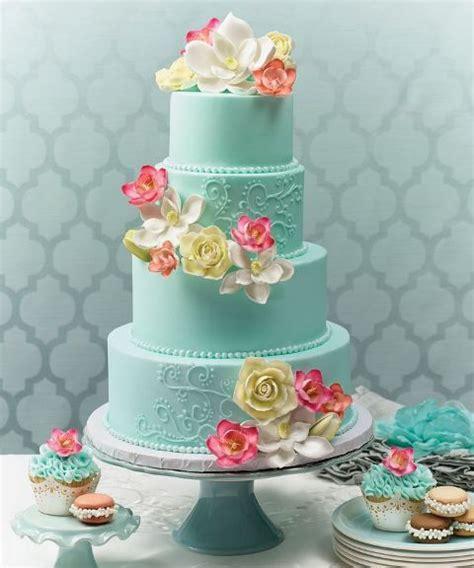 23 Elegant Tiffany Blue Wedding Cake Ideas Weddingomania