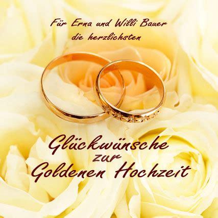 album goldene hochzeit personalisierter gl 252 ckwunsch goldene hochzeit hochzeitsjubil 228 en