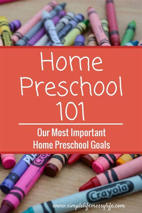 our home preschool goals home preschool 101 series 963 | preschool goals e1440528978942