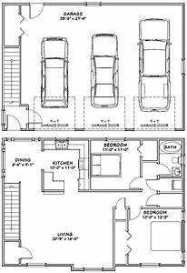 40x28 3-car Garage --  40x28g9 -- 1 146 Sq Ft