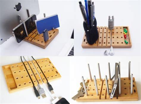 organiseur de bureau modo l 39 organiseur de bureau en bois modulable