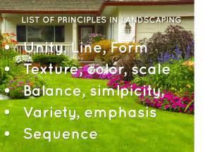 landscape design basics principles landscape principles by catherine cooley