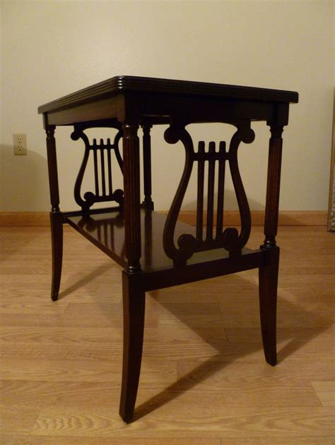 sale duncan phyfe mahogany side table harplyre