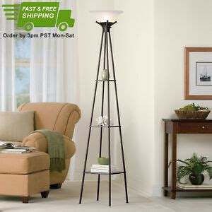 Mainstays Etagere Floor L by Mainstays 69 Quot Etagere Floor L Charcoal Finish Ebay