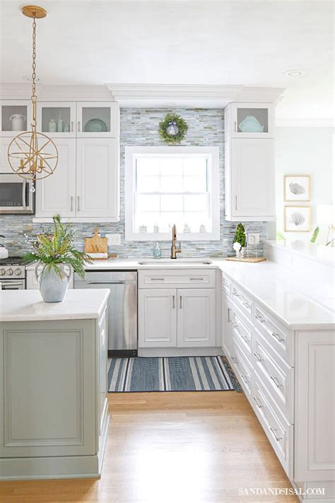 christmas   coastal kitchen home decor kitchen farmhouse style kitchen beach house kitchens
