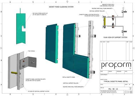 cassette systems secret fixing cladding panels cladding systems cladding