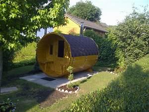 Fass Als Gartenhaus : mit einer fass sauna wird ihr garten zu einer wellnessoase garten blog ~ Markanthonyermac.com Haus und Dekorationen