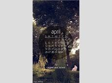 April 2015 Calendar Wallpaper Calibre