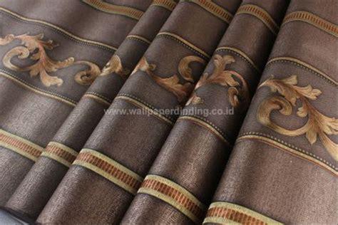 bagus  wallpaper dinding batik coklat joen