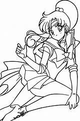 Sailor Jupiter Coloring Moon Pages Super Sheets Anime Colouring Deviantart Smile Happy Favourites sketch template