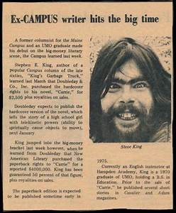 Stephen King's College Photo is Scarier Than His Own Books ...
