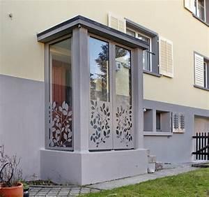 Windfang Hauseingang Aus Glas : metall werk z rich ag windfang abschluss mit ornamenten ~ Markanthonyermac.com Haus und Dekorationen